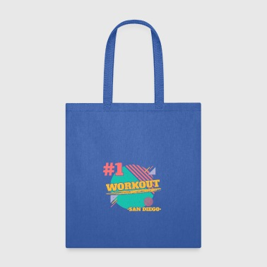 San Diego workout #1 fitness gym - Tote Bag