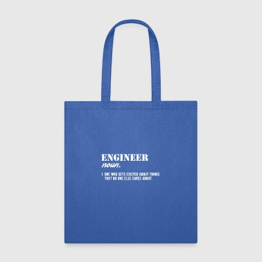 engineer noun job anniversary gift - Tote Bag