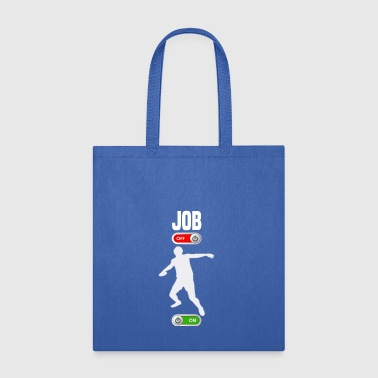 JOB OFF Discus throw sport ON gift - Tote Bag