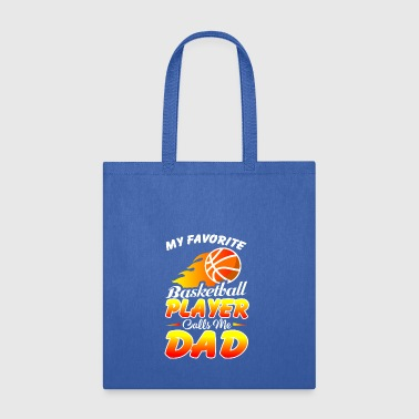 Basketball Dad Shirt. Gift From Daughter/Son For D - Tote Bag