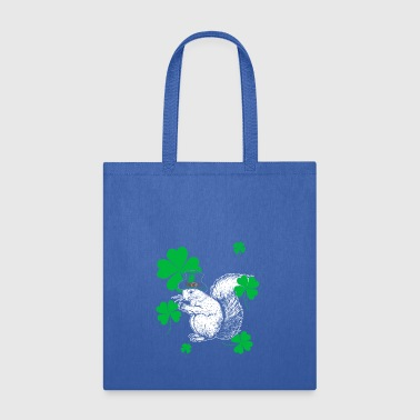 squirrel St Patrick's Day Gift - Tote Bag