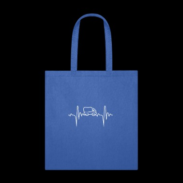 Transportation 3 Heartbeat Gift - Tote Bag