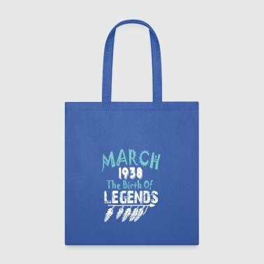 March 1938 The Birth Of Legends - Tote Bag