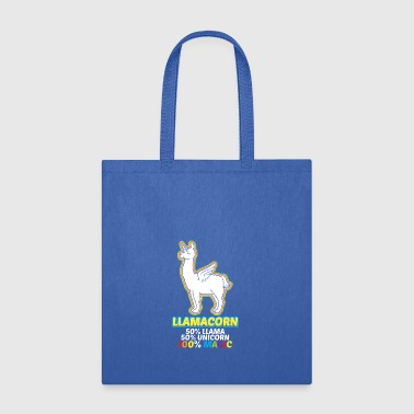 Funny LLamacorn Shirt - Tote Bag