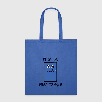 Frectangle, the freckled rectangle - Tote Bag