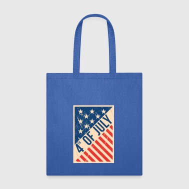 Usa independence day poster - Tote Bag