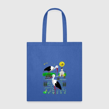 Storks at Home - Tote Bag
