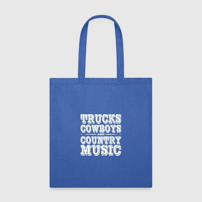 Truck Cowboys - Tote Bag