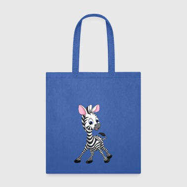 Cute Zebra - Tote Bag