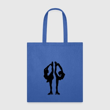 Figure skating and ice figure dance is an artistry - Tote Bag