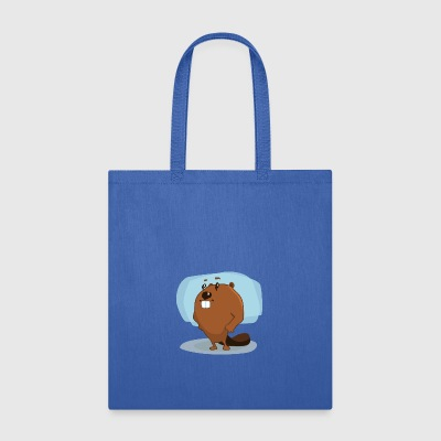 beaver biber nagetier rodents wood water5 - Tote Bag