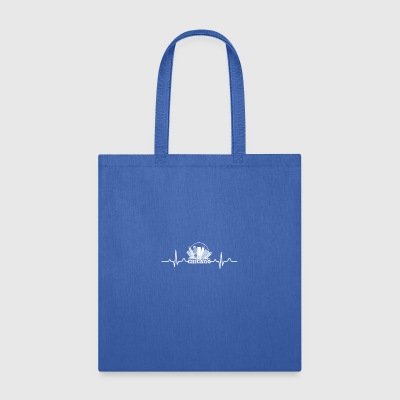 Chicago Heartbeat Shirt - Tote Bag