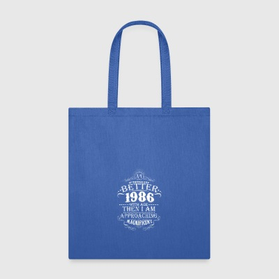 Vintage Born In 1986 30 Years Old Birthday T-Shirt - Tote Bag