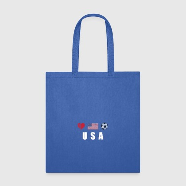 United States Football American Soccer T-shirt - Tote Bag