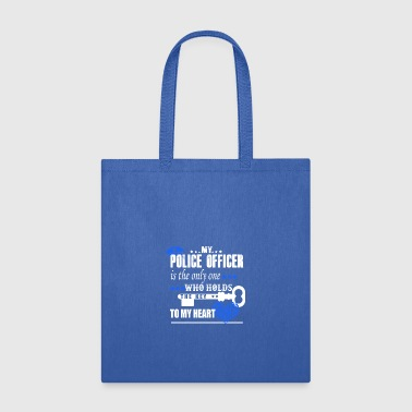 Police Officer Key Heart Shirt - Tote Bag