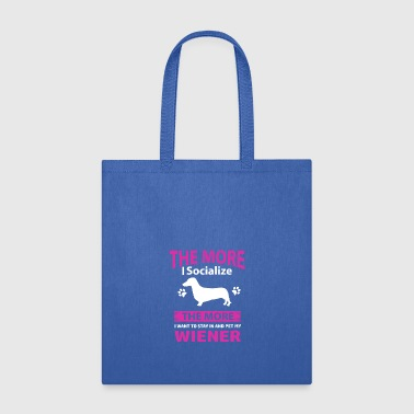 Funny Wiener Designs - Tote Bag