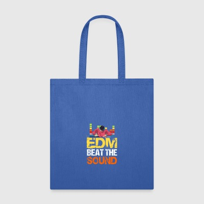 EDM Beat The Sound - Tote Bag