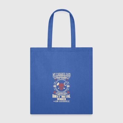 I Became A Sheet Metal Worker - Tote Bag