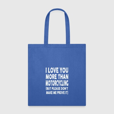 Motorcycling - Tote Bag