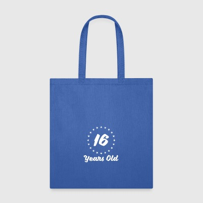 16 Years Old - Tote Bag
