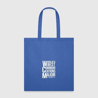 World's Best Communications Major - Tote Bag