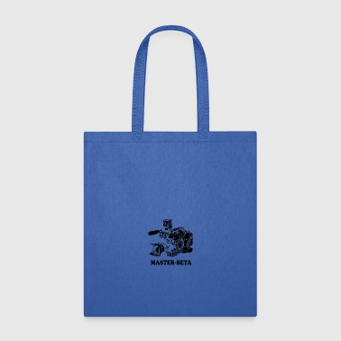 Funny Master Beta Filmmaking (For Light Colors) - Tote Bag