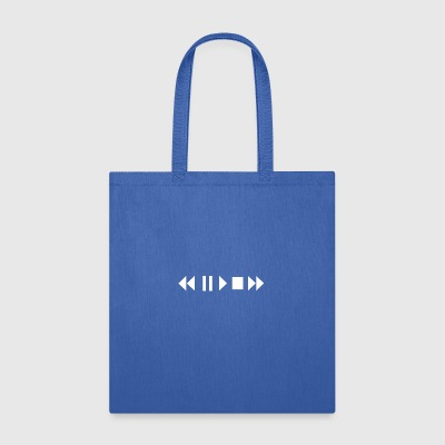Play Pause Rewind - Tote Bag