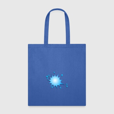blue splash - Tote Bag