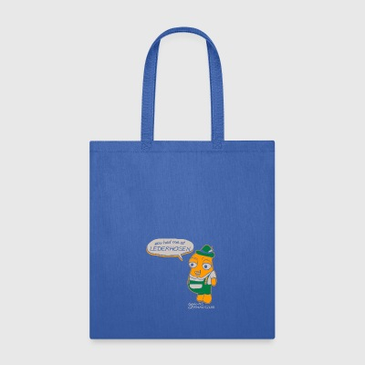 You Had Me At Lederhosen Berlin HS German Club - Tote Bag