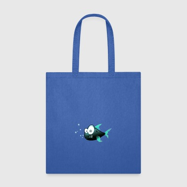 Confused Piranha - Tote Bag