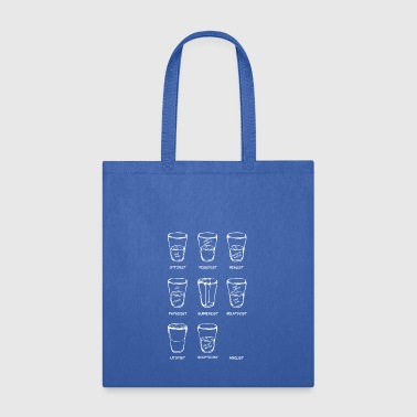 point of view3 weiss - Tote Bag