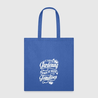Love Gardening Tomatoes - Tote Bag