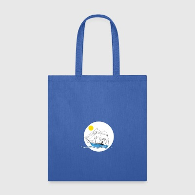 Morning tall ship - Tote Bag