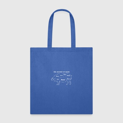Anatomy Of Bacon - Tote Bag