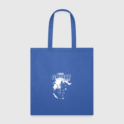 Greece On My Shirt - Tote Bag