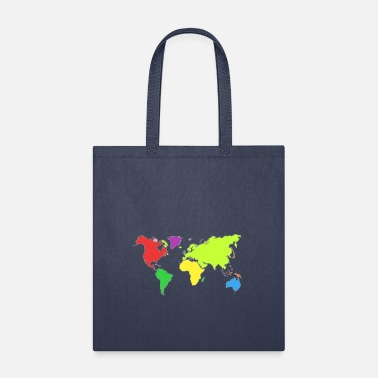 Map Map - Tote Bag