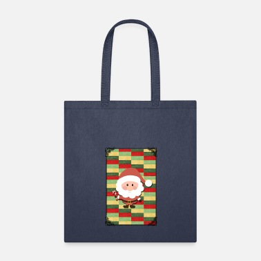 Pattern SANTA CLAUS XMAS DESIGN! GIFT IDEA FOR CHRISTMAS - Tote Bag
