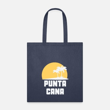 Punta Cana Punta Cana Dominican Republic Sunset Palm Trees - Tote Bag