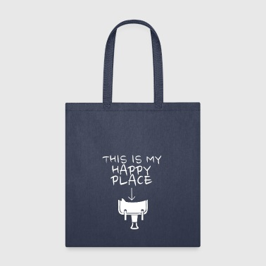 Happy Place Western Riding - Tote Bag