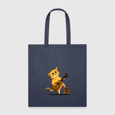 Cat Ukulele - Tote Bag