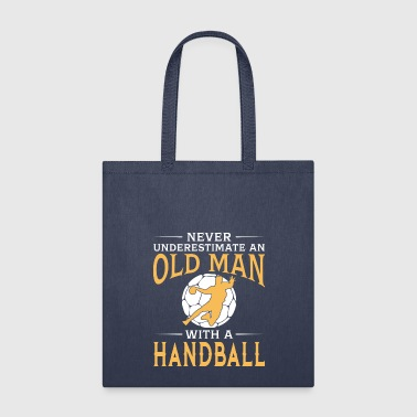 funny An Old Man With A Handball - Tote Bag