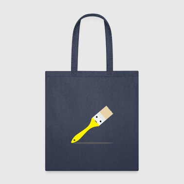 Cute Objects - Paint Brush - Tote Bag