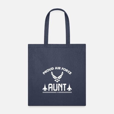 Academy Proud Air Force Aunt T Shirt For Gift - Tote Bag