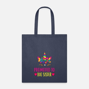 Sister Promoted To Big Sister T Shirt For Gift - Tote Bag