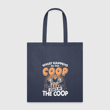 Chicken Coop Shirt - Tote Bag