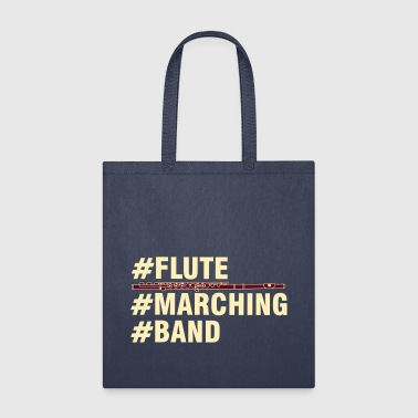 Flute Marching Band - Tote Bag