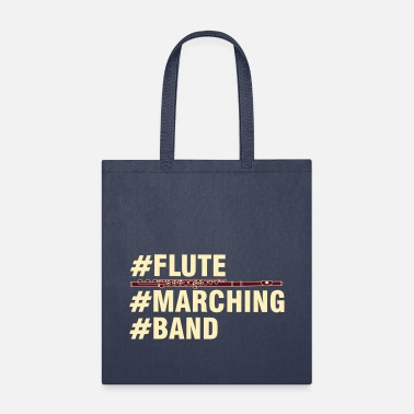 Band Flute Marching Band - Tote Bag