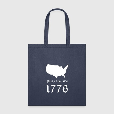 Party Like It s 1776 - Tote Bag
