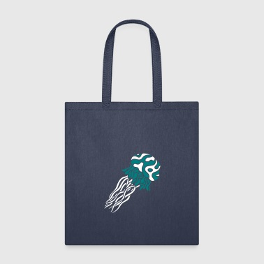 diving jellyfish swimming underwater disgusting gl - Tote Bag