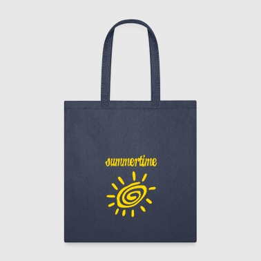 summertime - sunshine (ornament) - Tote Bag